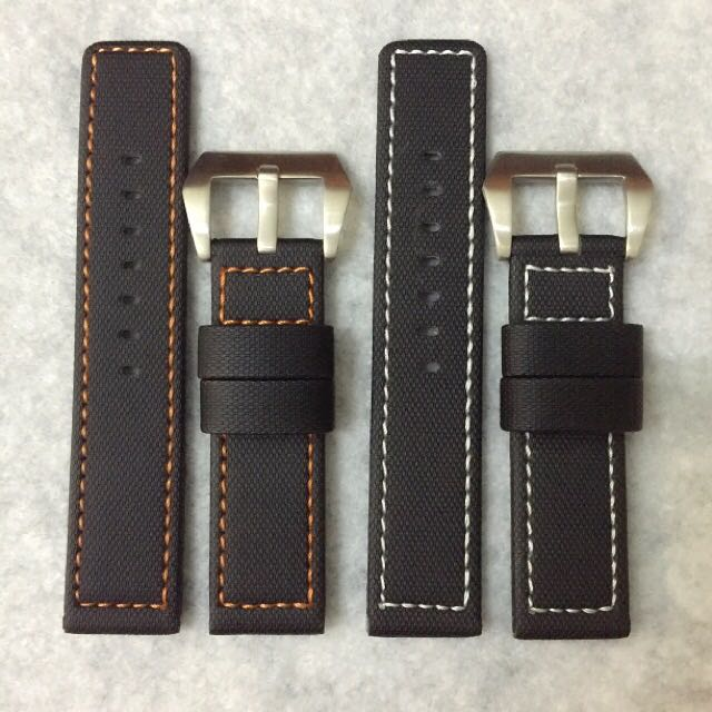 22mm Kevlar Watch Strap With Coloured