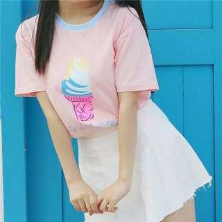 冰淇淋上衣