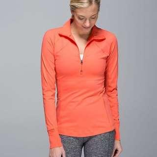 Lululemon Run With Grace Long Sleeve Shirt Top Size 4