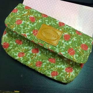 """[Luv Vintage] Quilt Purse from """"Morris & co"""""""