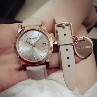 Burberry Double Wrap Strap Watch