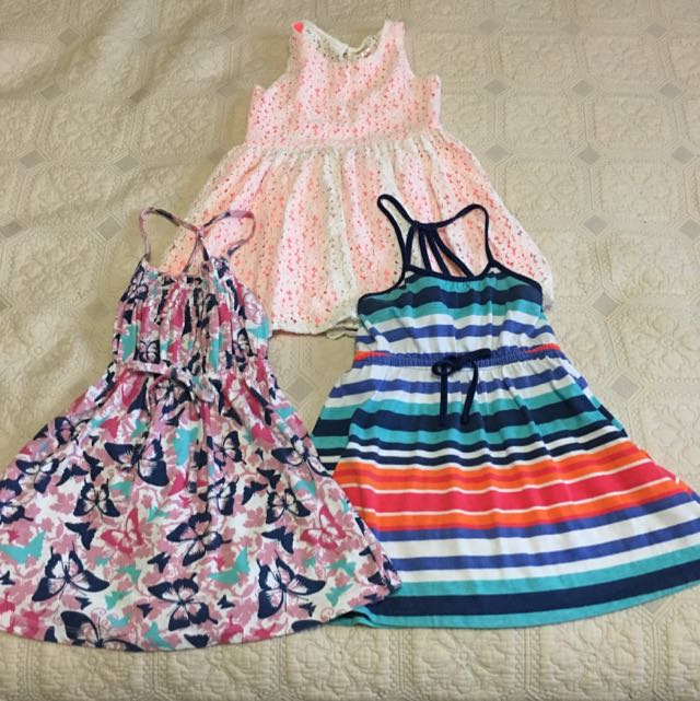 3 Toddler Girl's Dresses