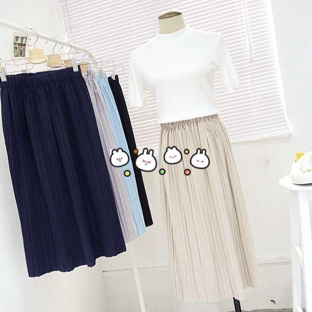 半身裙/百折/長裙