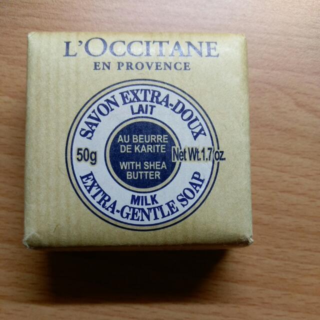 歐舒丹的乳油奶皂