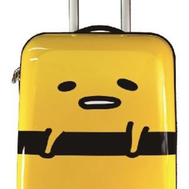 蛋黃哥行李箱