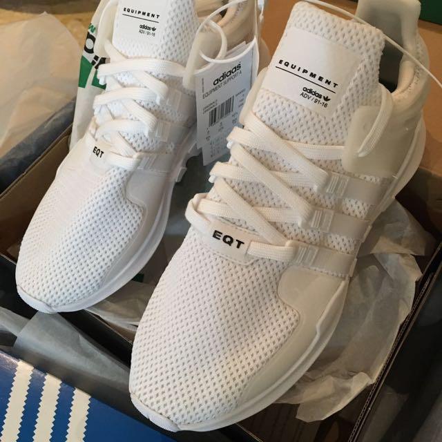 限量! Adidas EQT 91-16  support ADV 白色 現貨US9.5一雙