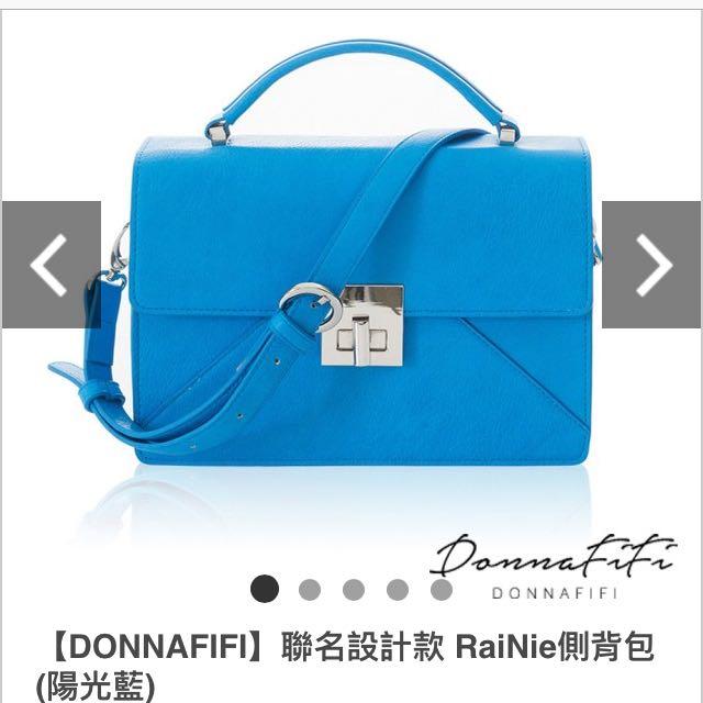 全新 Donnafifi 連名 側背包