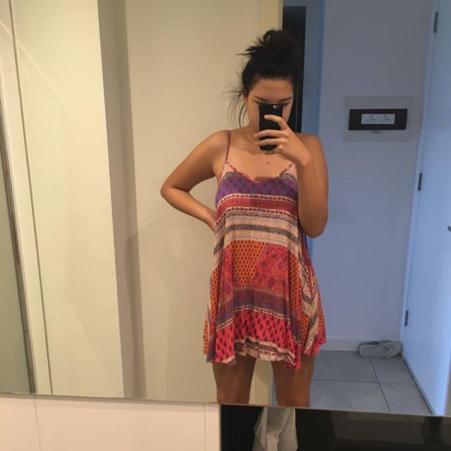 Aztec Paper Heart Dress