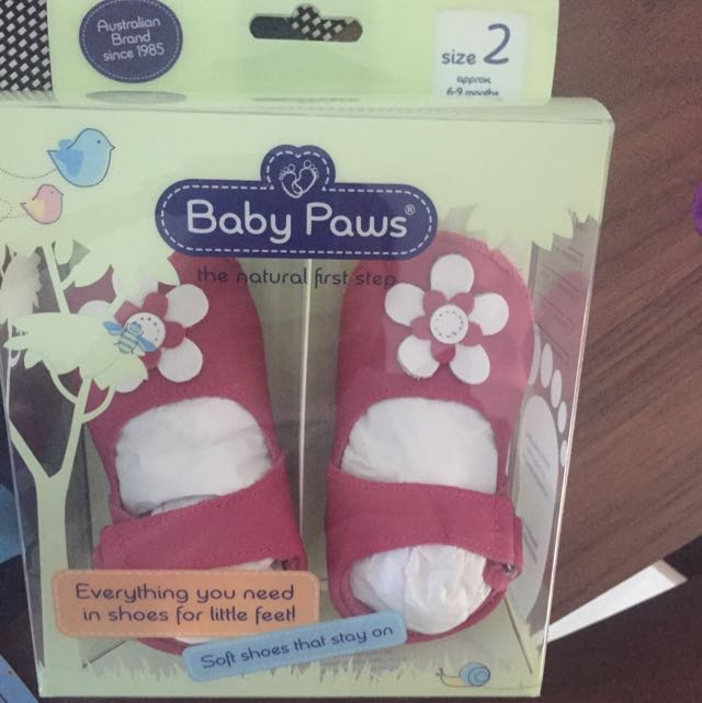 Baby Paws Size 2 For 6-9 Mths Old
