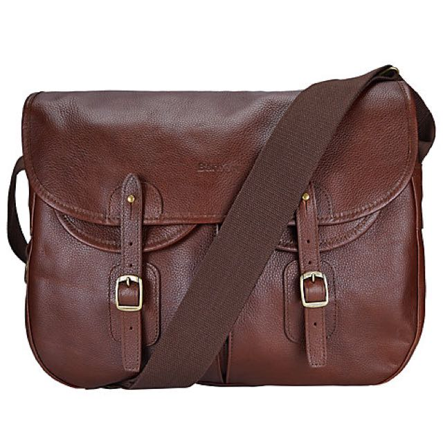 Barbour Leather Tarras Bag