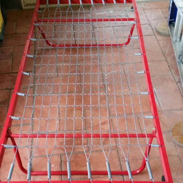 Bed Frame Semi Foldable