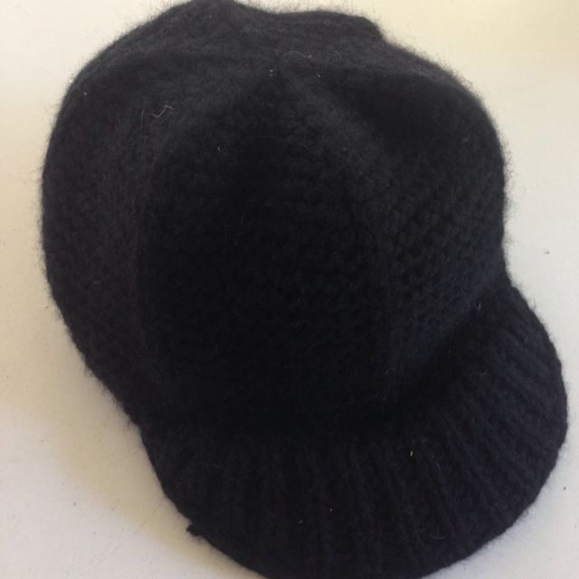 Black Knitted Beanie
