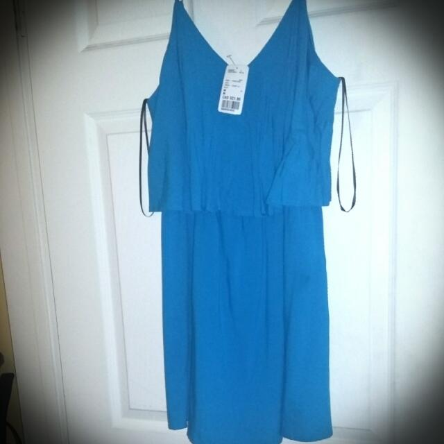Blue Dress size M.