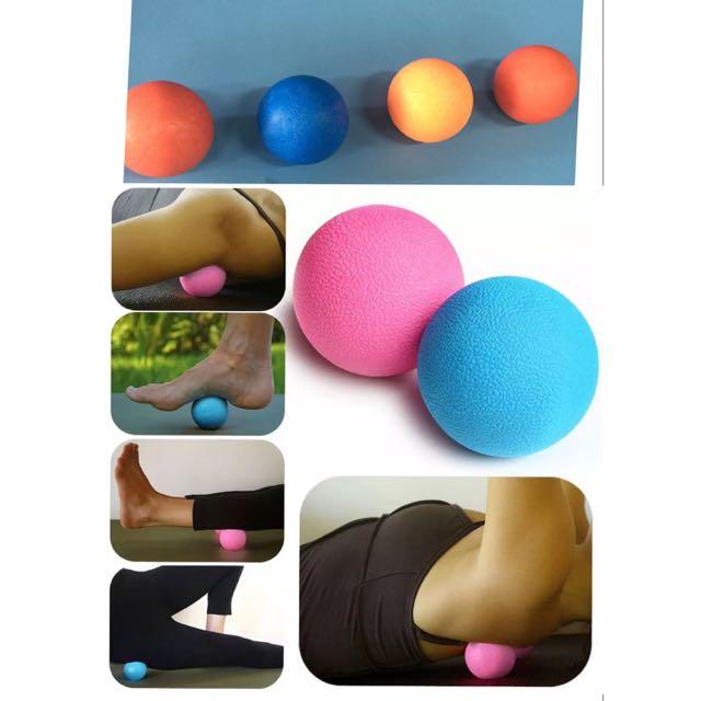 BNIP Hard Massage Lacrosse Ball ( Red / Orange / Blue )