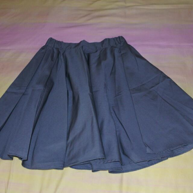 Chlorine Cloth Midi Skirt