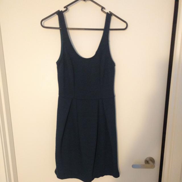 Cute Dark Blue Dress