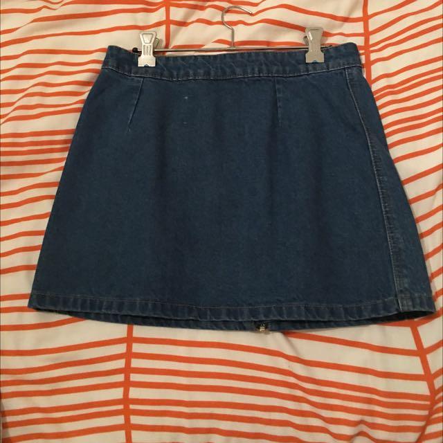 DOTTI Denim Skirt