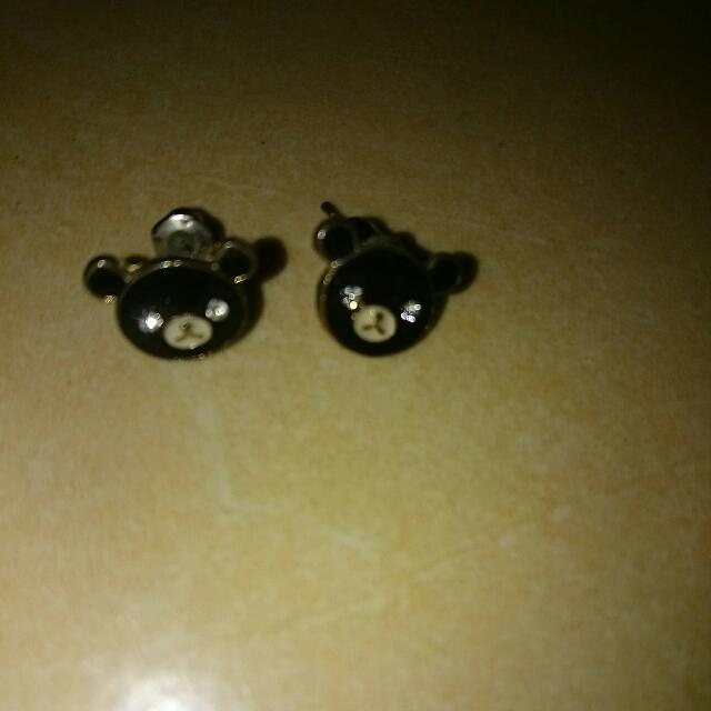 Earrings Panda