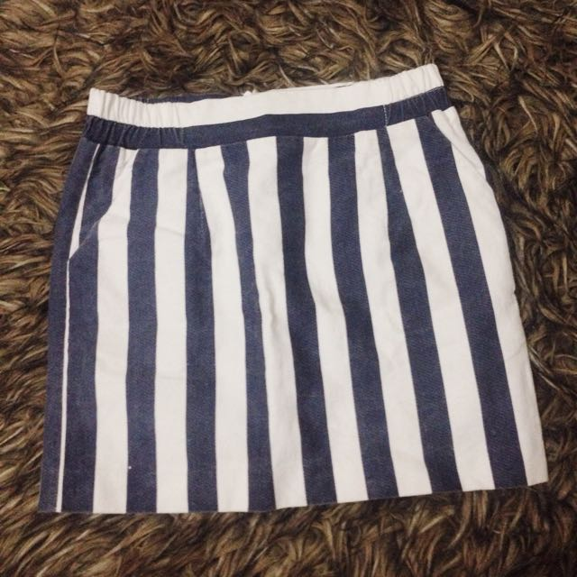 Gaudi Mini Stripe Skirt