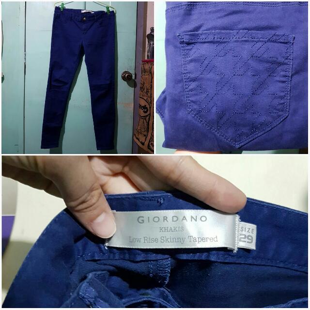 Giordano Indigo Stretch Jeans