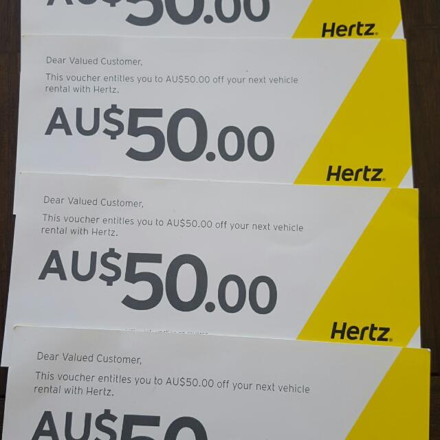Hertz Voucher