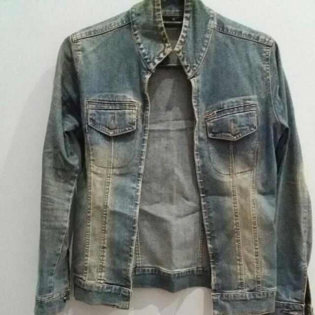 Jaket Jeans Dust