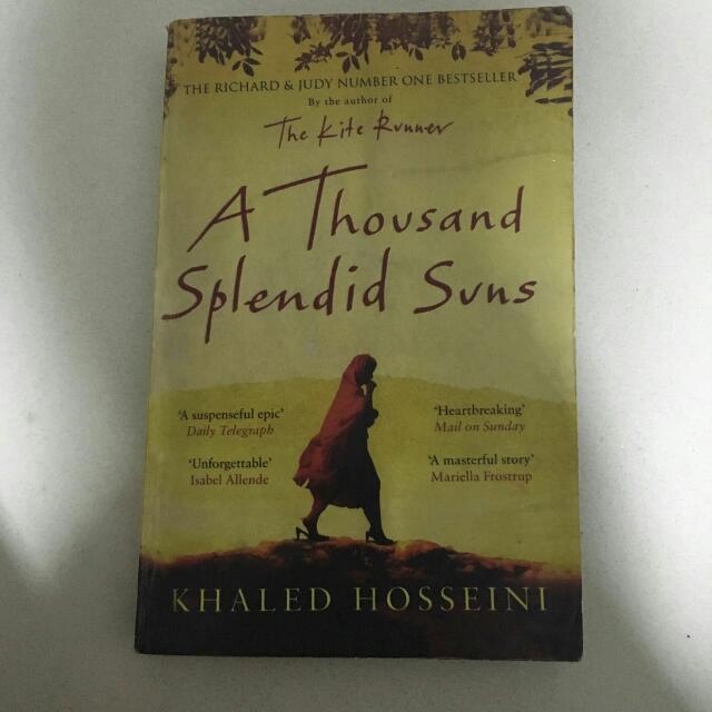 Khaled Hosseini - A Thousand Splendid Sun