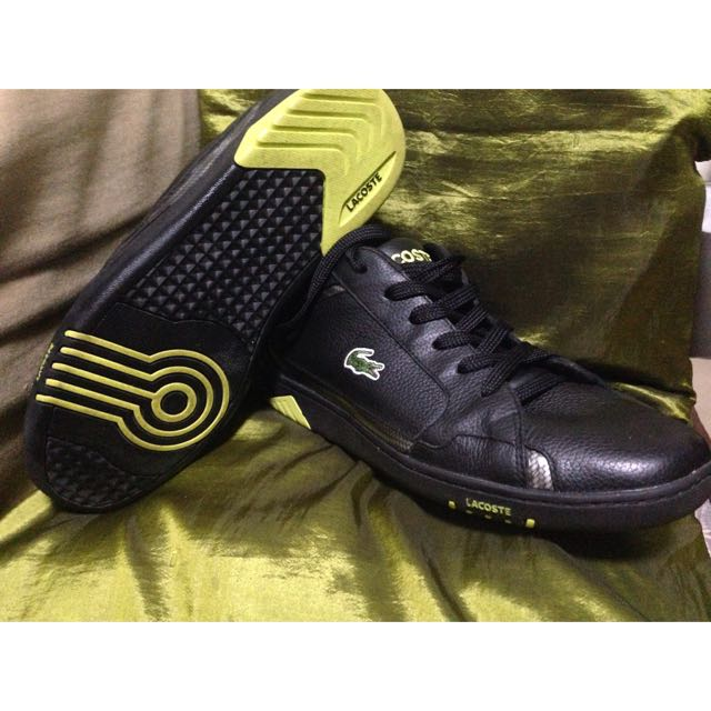 LACOSTE sport black shoes