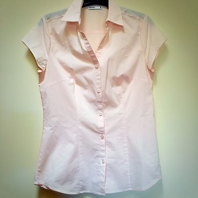 Ladies Peach Blouse