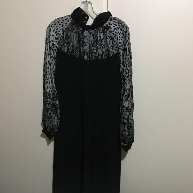 Long Maxi Dress Long Sleeve Size 8