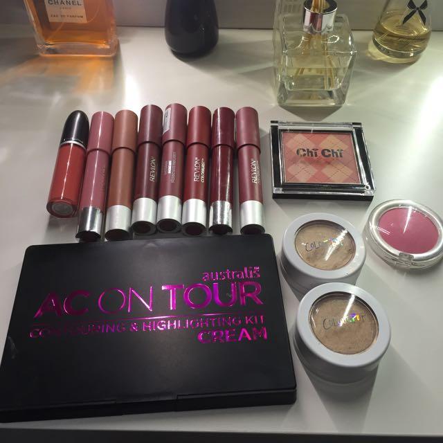Make Up Bundle, Mac Colourpop Revlon Chichi