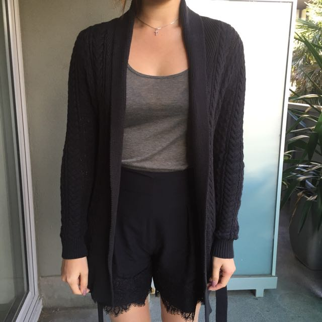 MNG Knitted Cardigan Size S