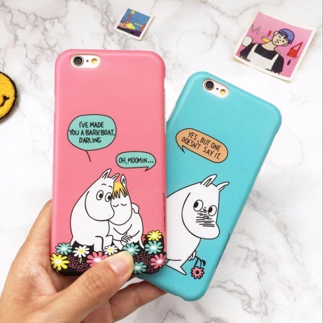 嚕嚕咪MoominiPhone6/6+ 霧面磨砂手機殼保護套