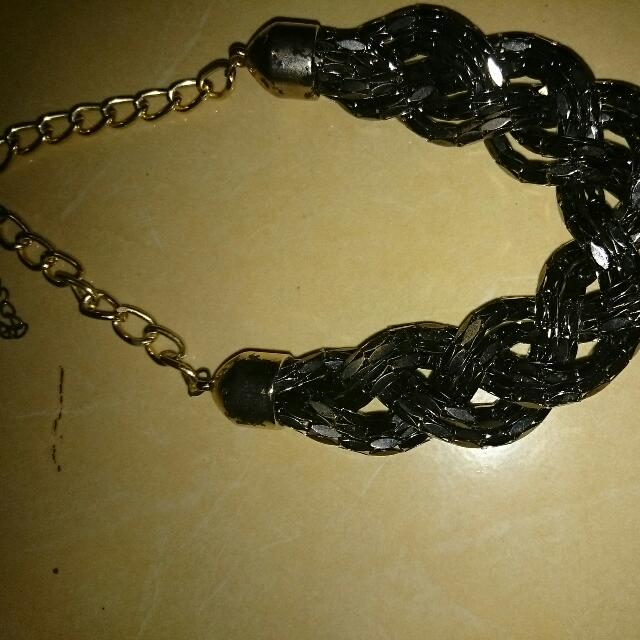Necklace Chain Grey