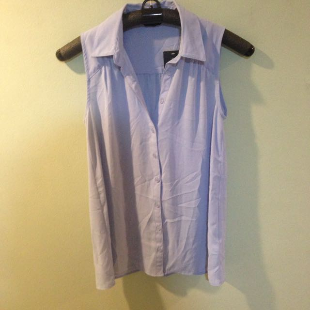 New Look Periwinkle Top (brand New!)