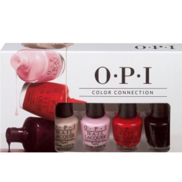 Brand New OPI Color Connection