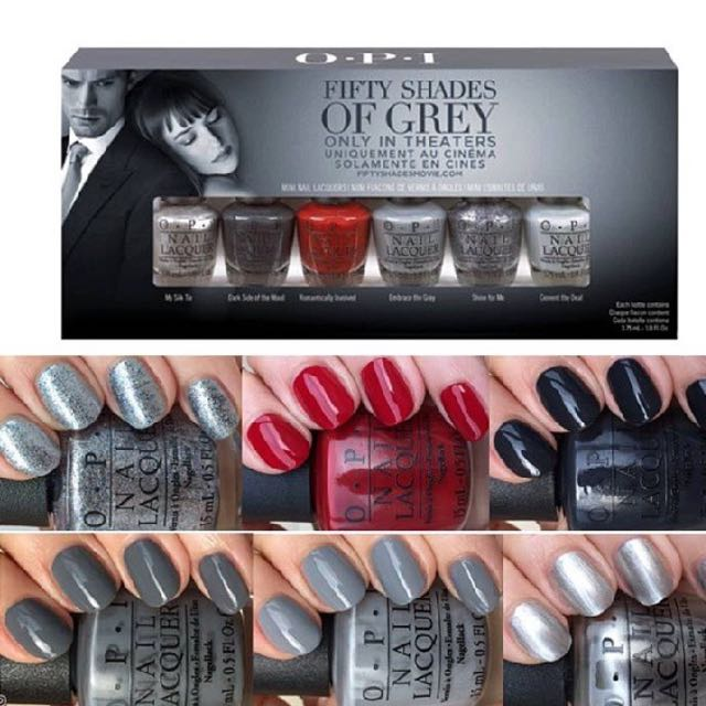 Brand New OPI Fifty Shades Of Grey