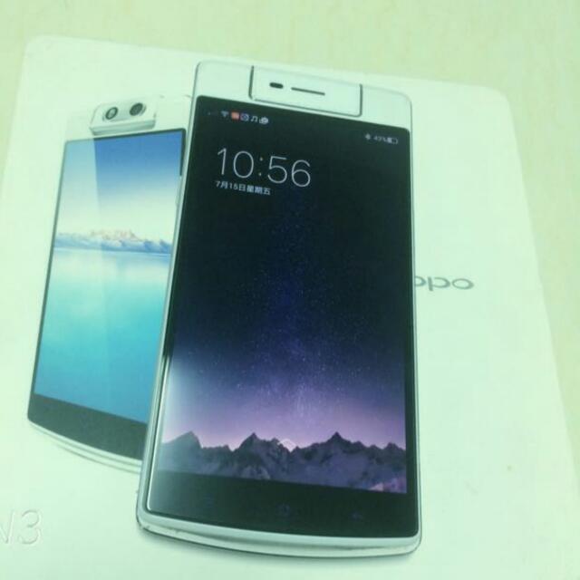 Oppo N3 自拍神機 85成新 快速充電  電動旋轉鏡頭