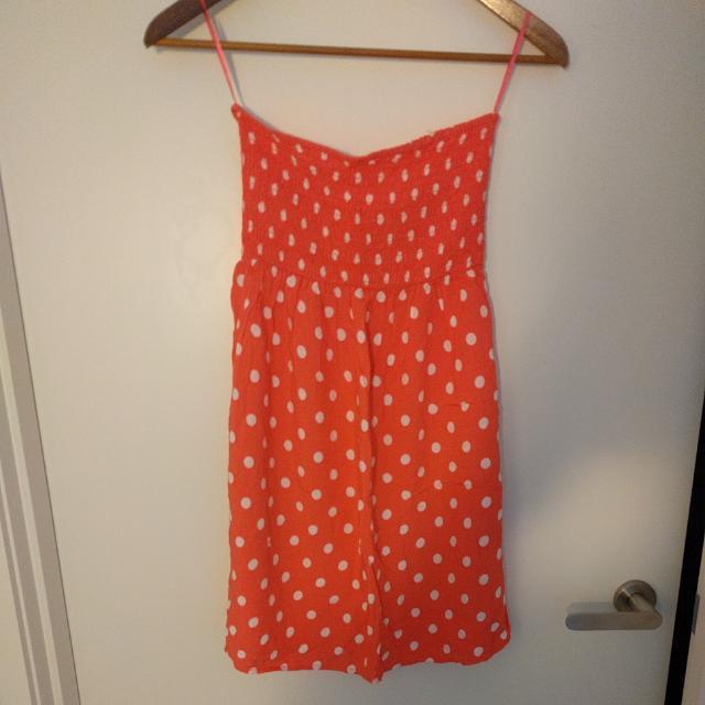 Polka Dot Tube Top/Dress