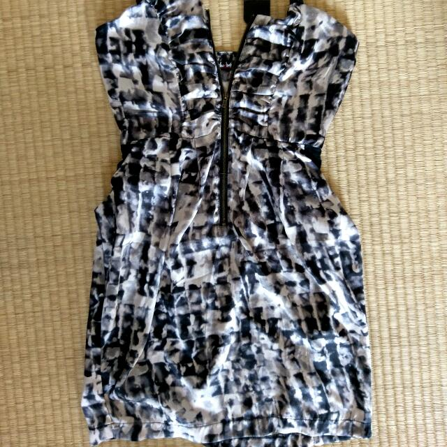 Brand New With Tags Satin Chicabooti Dress