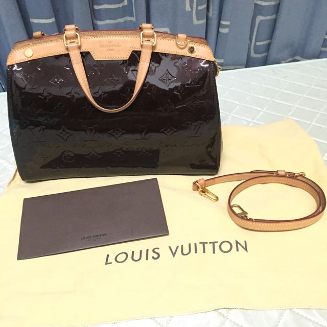 (Selling Fast) Louis Vuitton Brea MM Amarante
