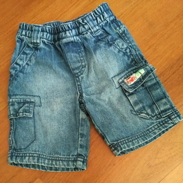 Sprout Baby Denim Shorts