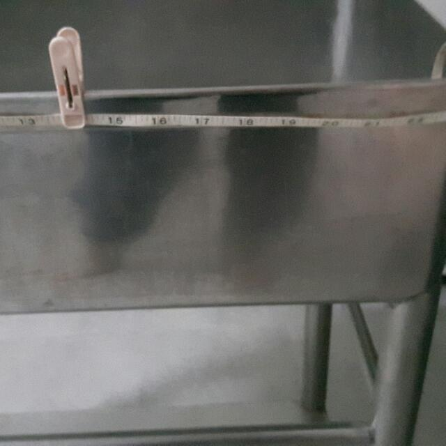 Stainless Steel Basin.Used.