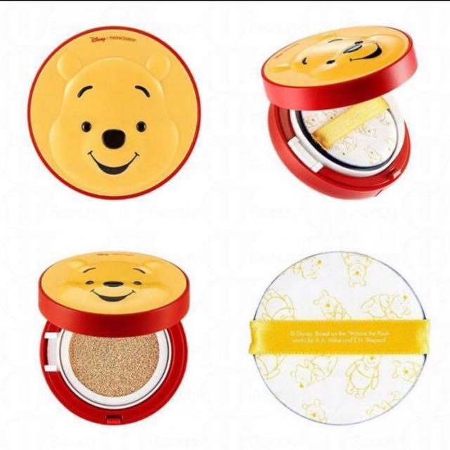 The Face Shop x Disney 迪士尼限量氣墊粉餅