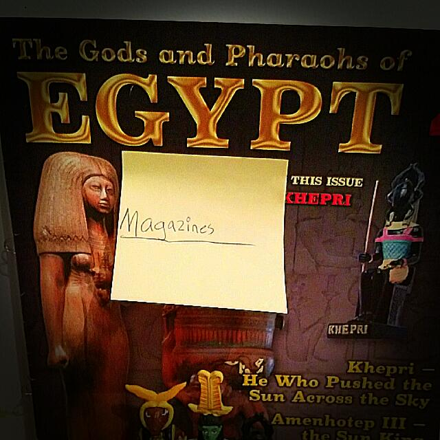 The Gods And Pharaoh's Of Egypt Issue 3&4 And It Comes With Action Figures