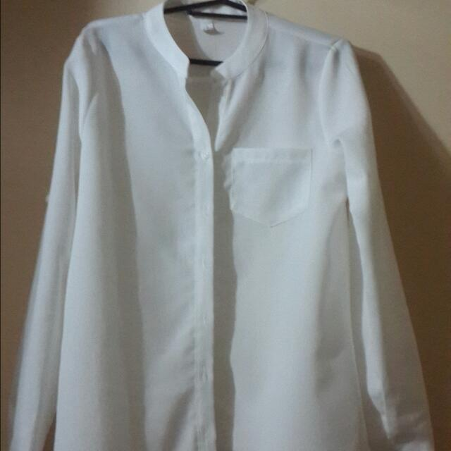 Top White Long Sleeves