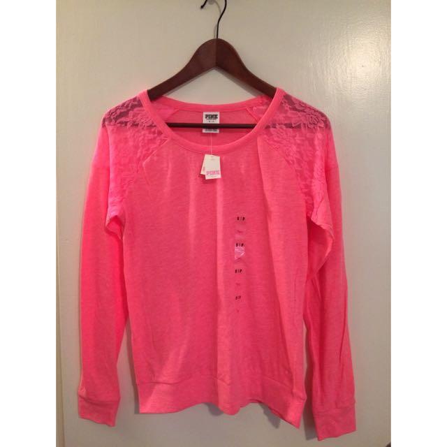 Victoria's Secret Pink Long Sleeve Top