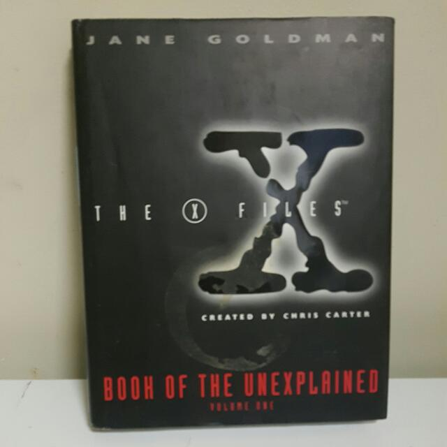 X FILES BOOK OF THE UNEXPLAINED