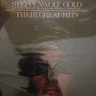 vynil steppenwolf gold