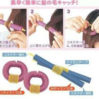 Soft stick Curler
